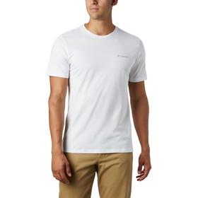 Columbia Rapid Ridge Back Graphic T-Shirt Homme, white csc textured dot